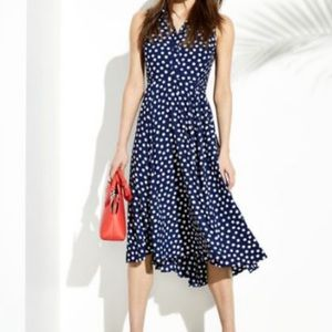 🆕 Brand New Kate Spade Cloud Dot Midi Dress